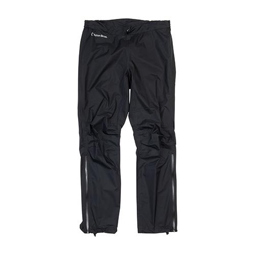 ティートンブロス フェザーレイン パンツ 2.0TETON BROS【Feather Rain Full Zip Jacket 2.0 (Unisex)】Black男女兼用