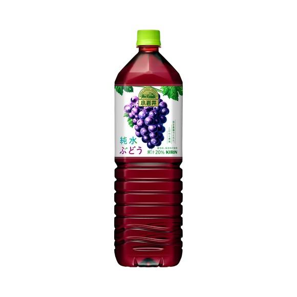 小岩井 純水ぶどう 1500ml ペットボトル ケース(8本)