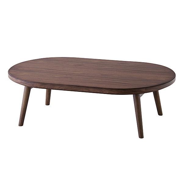 こたつ コタツ コロナ120 楕円形 折脚 幅120cm 暖房 テーブル 机 AZCORONA120