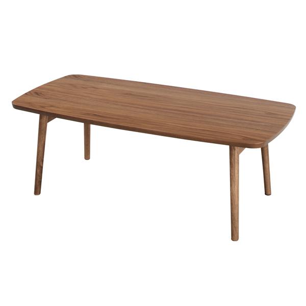 tomte 折りたたみテーブル フォールディングテーブル 天然木 ラバーウッド ナチュラル AZTAC229WAL