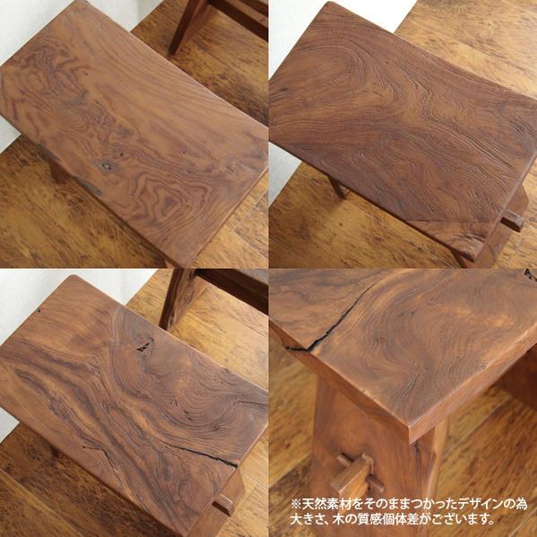 亚洲的家具凳子椅子椅子奇克洁净木制天然@CBi(akubii)ACS610KA巴厘杂货竹荚鱼安家具