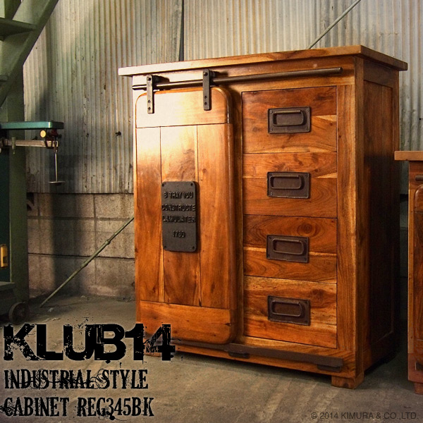 iron industrial furniture. Industrial Furniture Cabinet Chest Shelf Rack Storage Wood Steel Iron  Metal Vintage Antique Fashion Cafe Nordic Asian KLUB14 REG345BK Industrial L