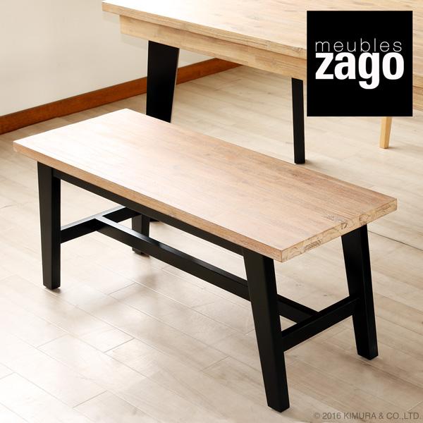 ZAGO FJORD(ザーゴフィヨルド)ダイニングベンチ チェア 椅子 スツール アカシア無垢木製 北欧 ナチュラル モダン L3C103FD