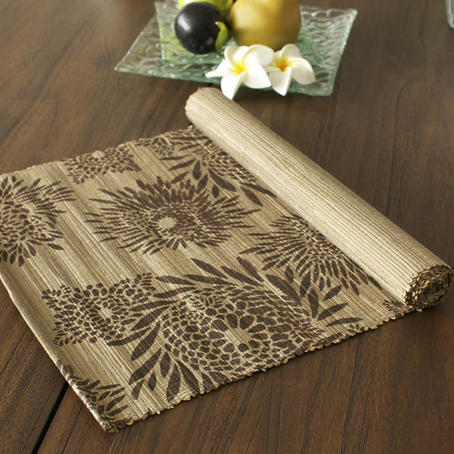 Charmant Palm Table Liner Bali Asian Kitchen Gadgets