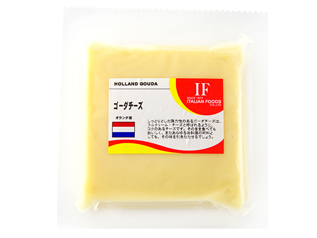 しっとりとした弾力性のあるゴーダチーズは 超激安特価 フルクリーム チーズと呼ばれるように コクのあるチーズです 100g オランダ 爆安 ゴーダチーズ