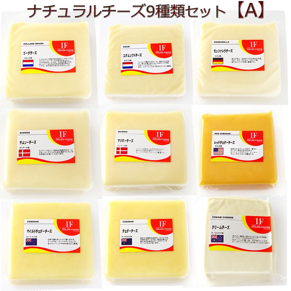 人気のナチュラルチーズ100gを9種類セットにしました ナチュラルチーズ 9種類 各100g Aセット ゴーダ モッツァレラ アウトレット マイルドチェダー クリームプレーン エダムソフトオーストラリアチェダー レッドチェダー サムソー マリボー 超激安特価