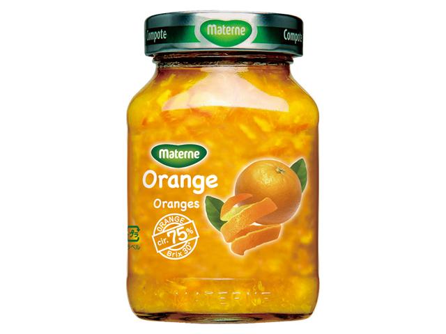 オーバーのアイテム取扱☆ オレンジの果皮まで丸ごと使ったコンポートです マテルネ 直営店 オレンジ 290g コンポート