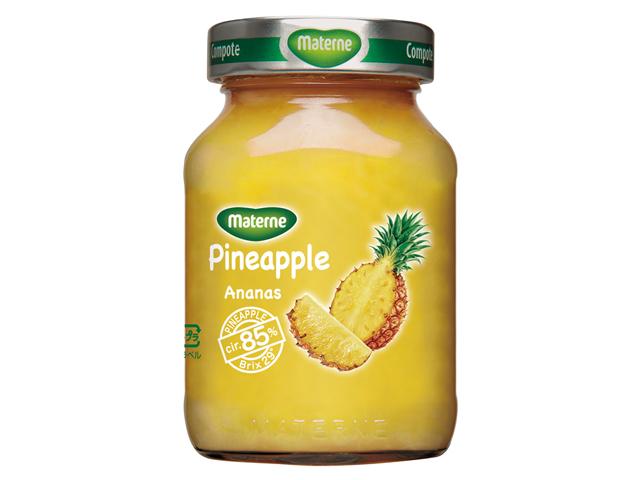 サクサクとした食感の残った甘酸っぱいパイナップルのコンポートです セール SEAL限定商品 期間限定マテルネ 285g 早割クーポン パイナップル コンポート