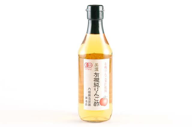 内堀醸造 正規店 美濃 360ml 有機純りんご酢 登場大人気アイテム