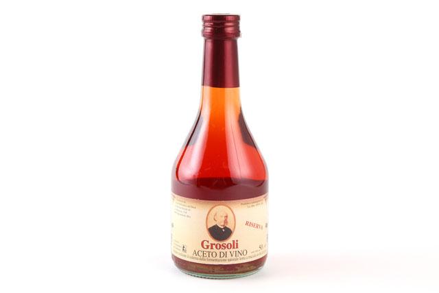 税込6 980円以上で送料もクール便も無料 ワインを木樽でゆっくりと発酵させる伝統的な製法でつくられたリゼルヴァタイプのビネガーです アドリアーノ 新着セール 赤ワインビネガー 500mlit 新作続 グロソリ