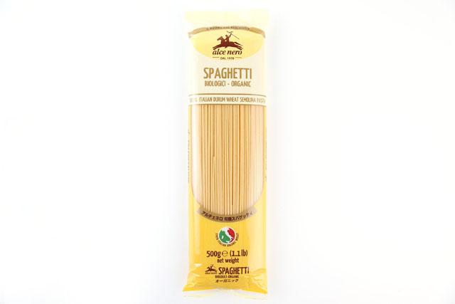有機小麦100%使用のコシの強いパスタです。太さ1.6mm。◆パッケージが変更になっております◆ アルチェネロ 有機スパゲッティ(1.6mm) 500g オーガニックalce nero_it