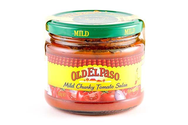 食感も楽しめるサルサソース コーンチップでディップすれば ビールにぴったり テレビで話題 いよいよ人気ブランド 本場メキシコの味 オールドエルパソ 300g チャンキートマト マイルド ディップサルサソース