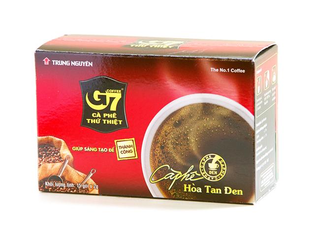 ベトナムのトップブランド チュンゲン コンデンスミルクを入れれば本場のベトナムコーヒーが味わえます 半額 通販 G7 2g×15p ベトナムコーヒー インスタントブラックコーヒー