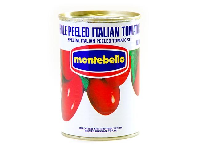 税込6 ついに入荷 数量は多 980円以上で送料もクール便も無料 イタリアの太陽の恵みをたっぷりと受けた完熟トマトを使用 400git モンテベッロ ホールトマト