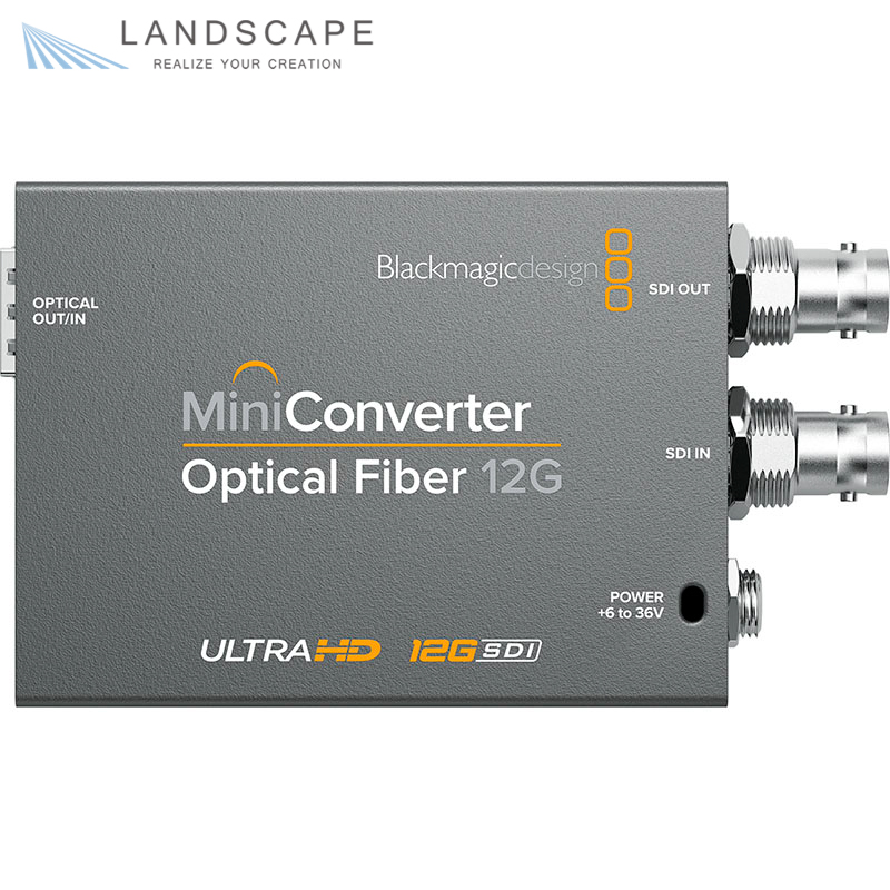 Blackmagic Design Mini Converter - Optical Fiber 12G〔CONVMOF12G〕