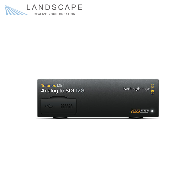 Blackmagic Teranex Mini Analog to SDI 12G〔CONVNTRM/BB/ANSDI〕