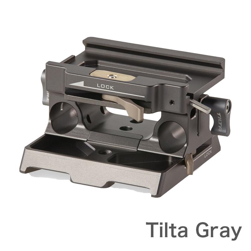 TILTA BMPCC4K用 15mm LWSベースプレートTilta Gray (TA-BSP-15)