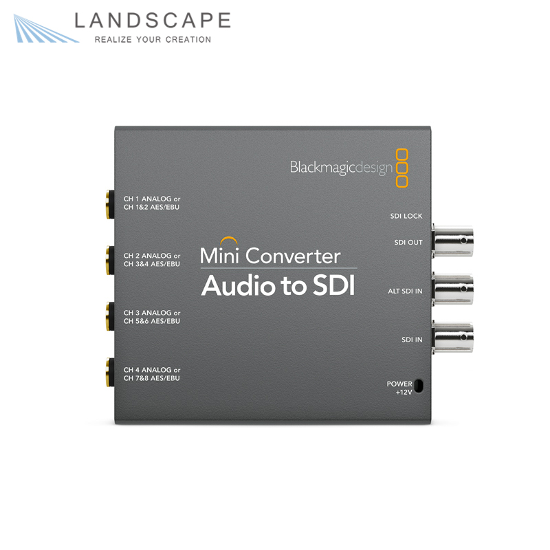 Blackmagic Design Mini Converter Audio to SDI〔CONVMCAUDS2〕