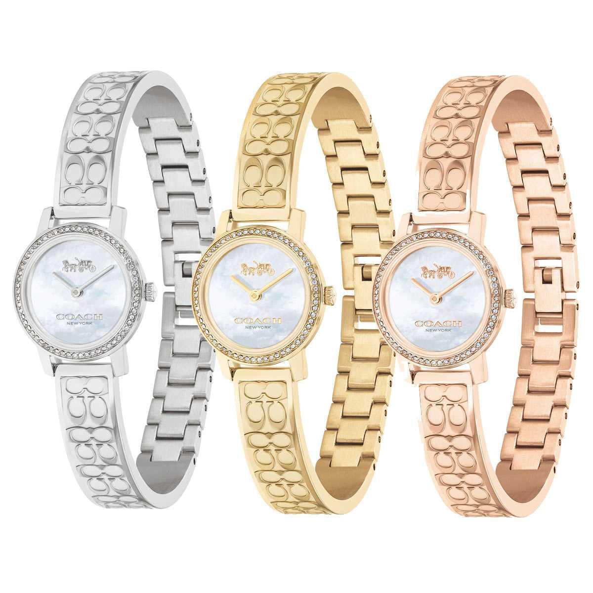 コーチ 腕時計 レディース ブランド バングル かわいい Audrey 女性 新色 COACH 後払い おしゃれ オードリー 引出物