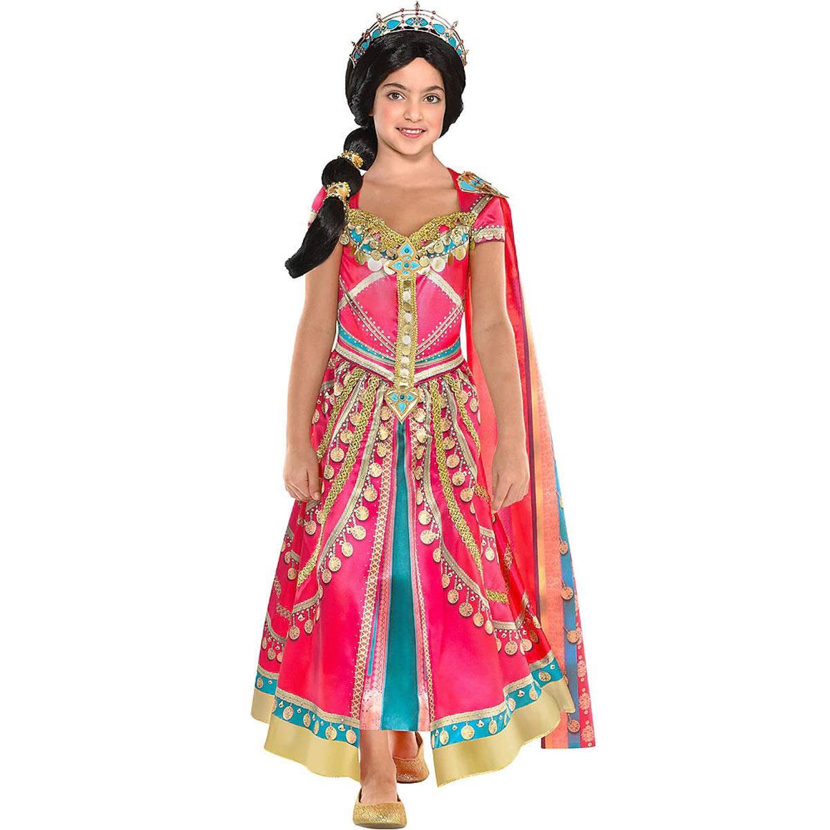 アラジン ジャスミン 衣装 コスチューム 子供用 コスプレ ハロウィン ディズニー ピンク Aladdin