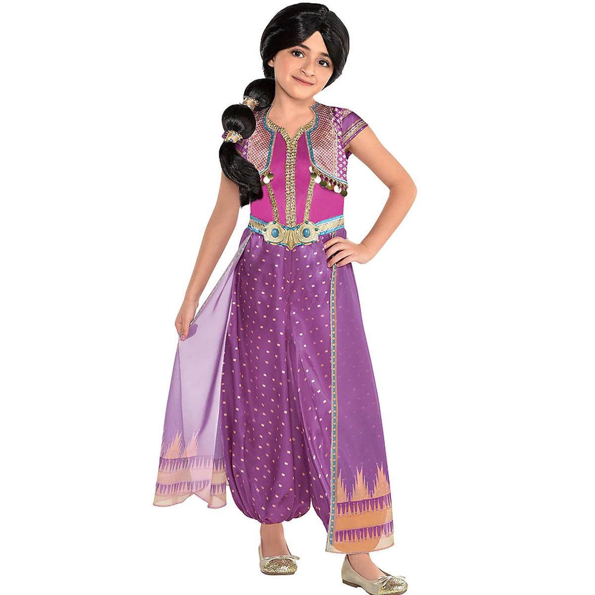 アラジン ジャスミン 衣装 コスチューム パープル コスプレ ハロウィン ディズニー 仮装 Aladdin