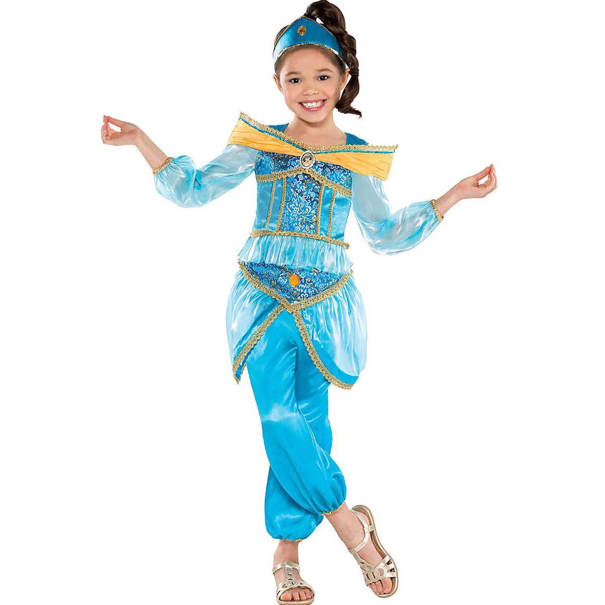 アラジン ジャスミン キッズ用 コスチューム 衣装 ハロウィン ディズニー コスプレ 仮装 Aladdin