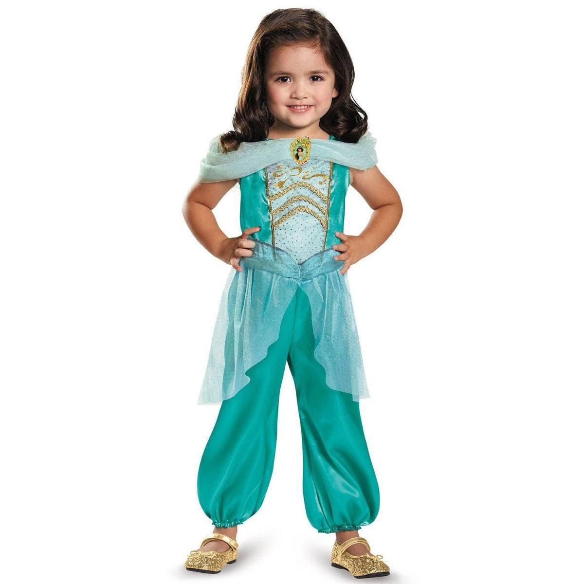 アラジン ジャスミン 幼児用 キッズ 衣装 コスプレ ハロウィン ディズニー Disney Alladin