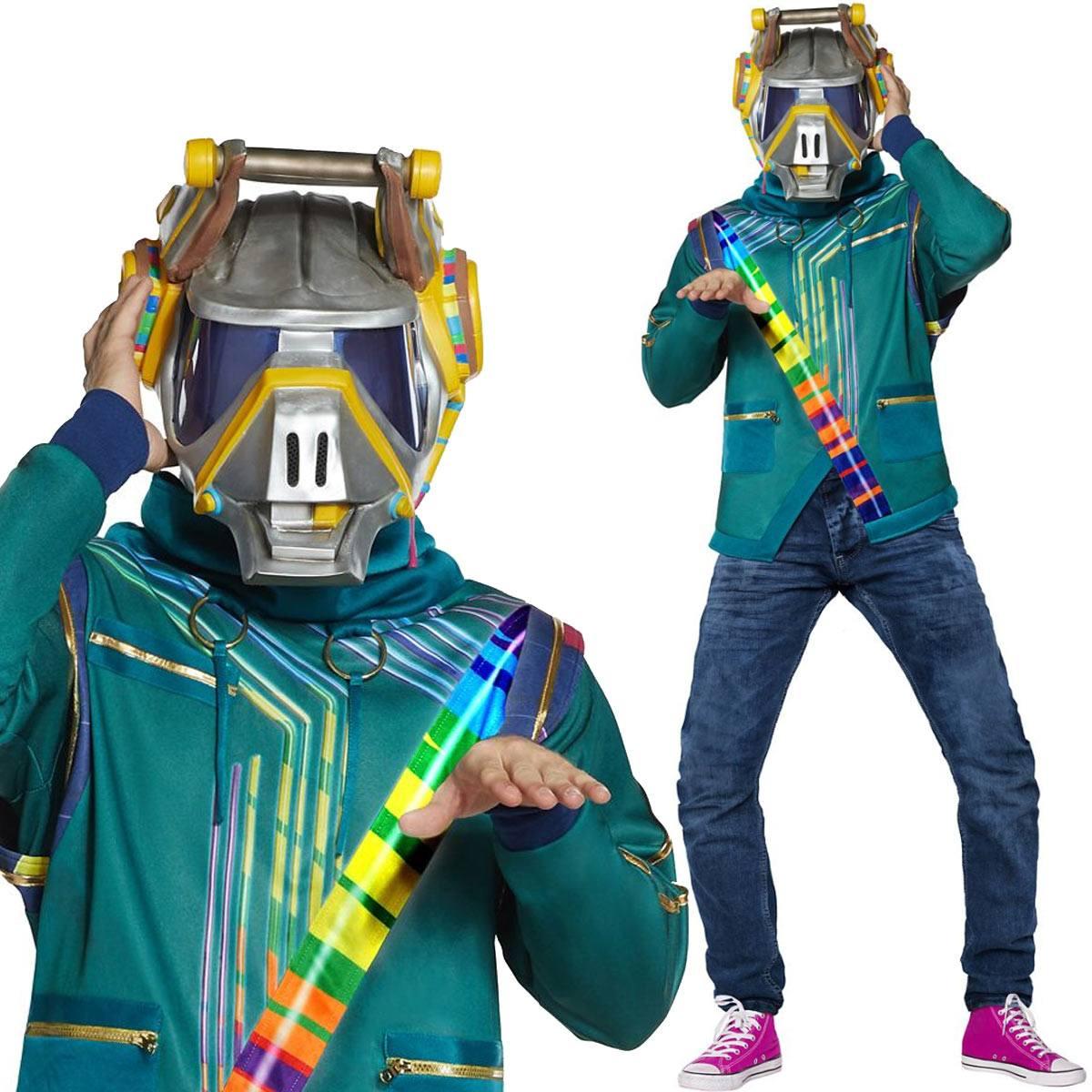 フォートナイト コスプレ DJ ヨンダー 大人用 コスチューム 服 グッズ スキン 公式 Fortnite