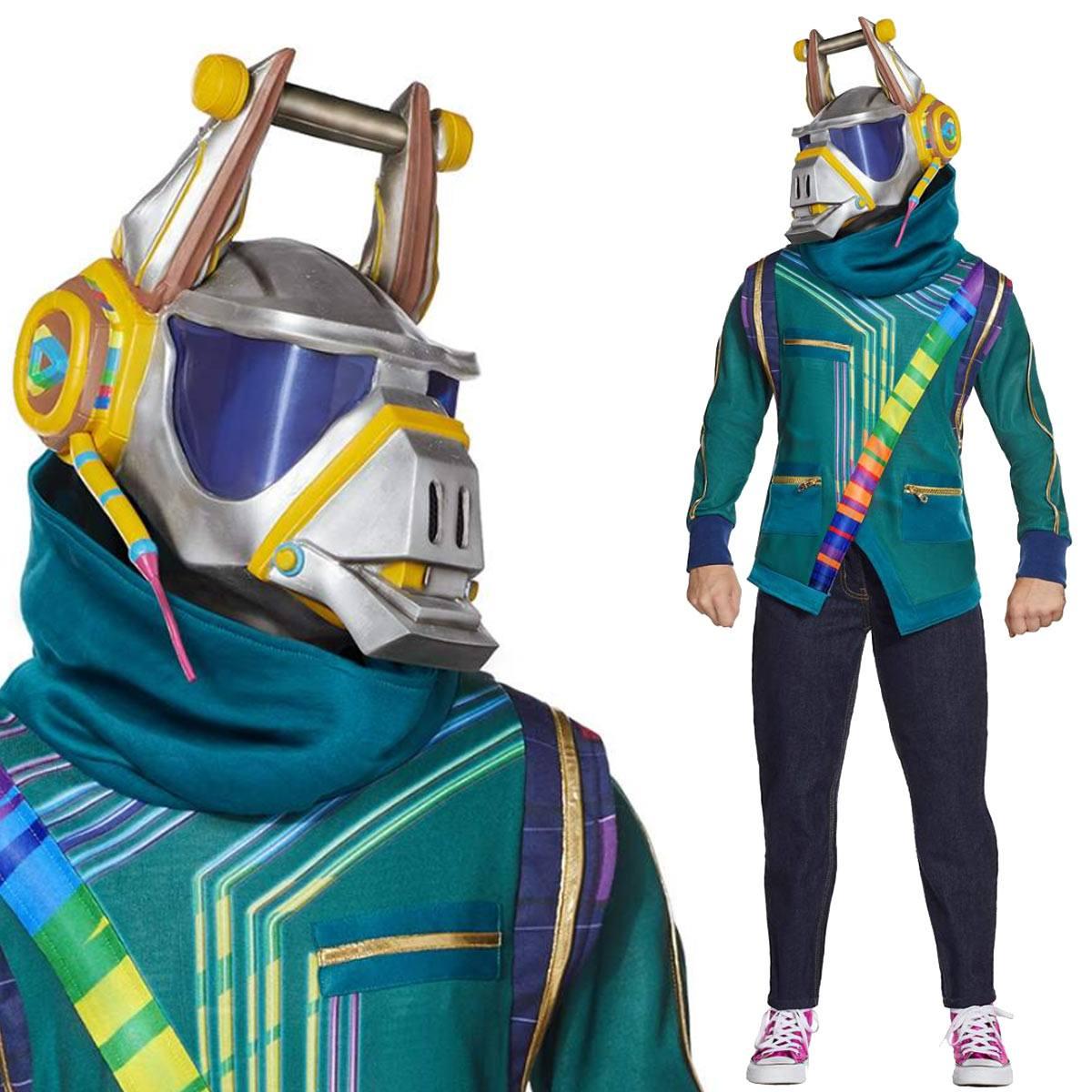 フォートナイト コスプレ DJ ヨンダー 子供用 コスチューム 服 グッズ スキン 公式 Fortnite