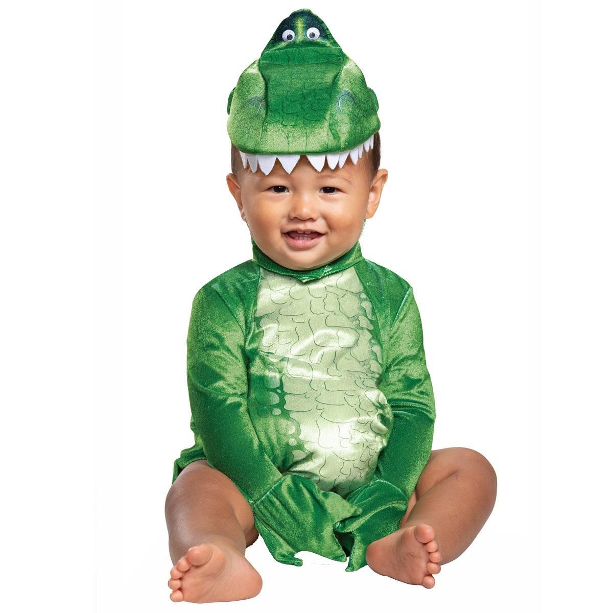 トイストーリー4 レックス恐竜 仮装 幼児用 衣装 ベービー用 着ぐるみ キッズ用 ハロウィン Toy Story 4