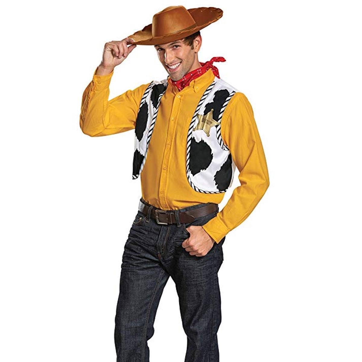 トイストーリー4 ウッディ 仮装 大人用 コスプレ ハロウィン 衣装 変身セット ディズニー Toy Story 4