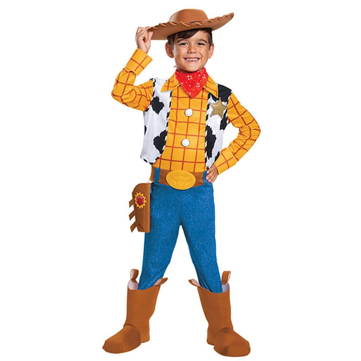 トイストーリー4 ウッディ 仮装 子供用 衣装 キッズ用 ハロウィン 変身セット ディズニー Toy Story 4