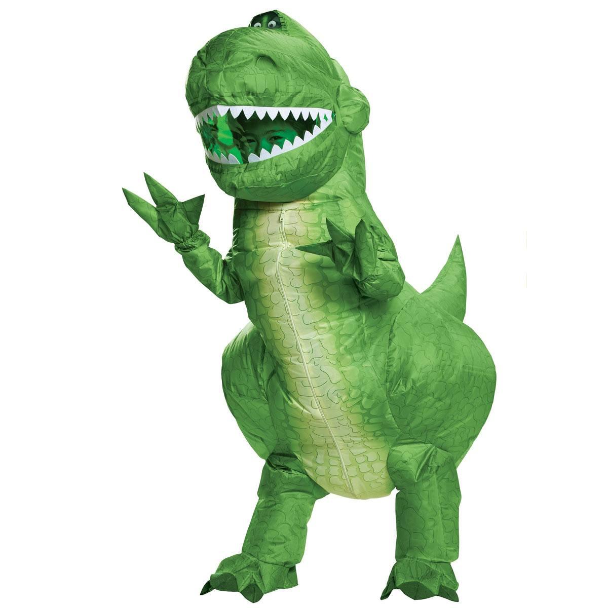 トイストーリー4 レックス恐竜 仮装 子供用 衣装 キッズ用 ハロウィン ディズニー Disney Toy Story 4