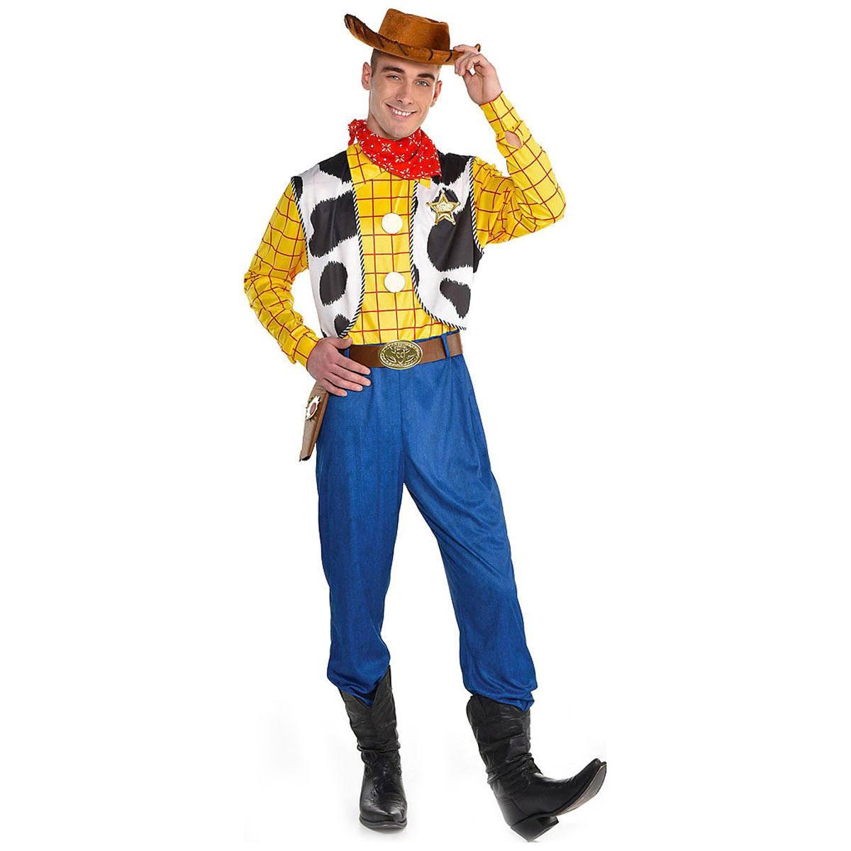 ディズニー トイストーリー ウッディ コスプレ コスチューム 大人用 なりきり ハロウィン ディズニー公式 Disny Toy Story