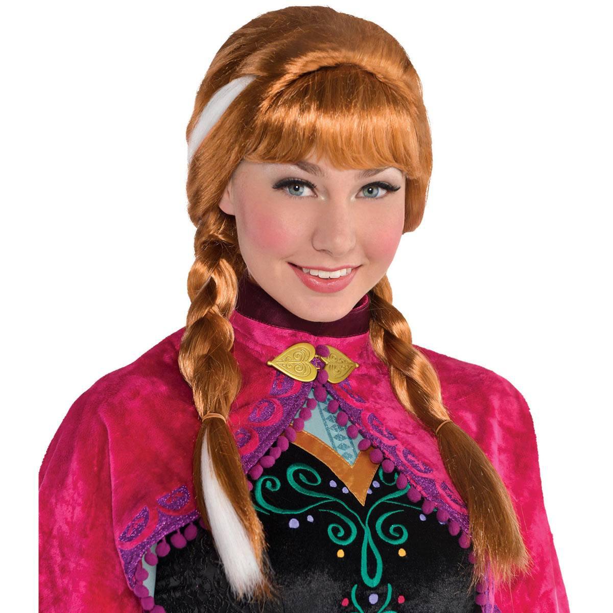 アナと雪の女王 アナ ウイッグ かつら アナ雪 キッズ コスプレ 衣装 仮装 コスチューム Frozen