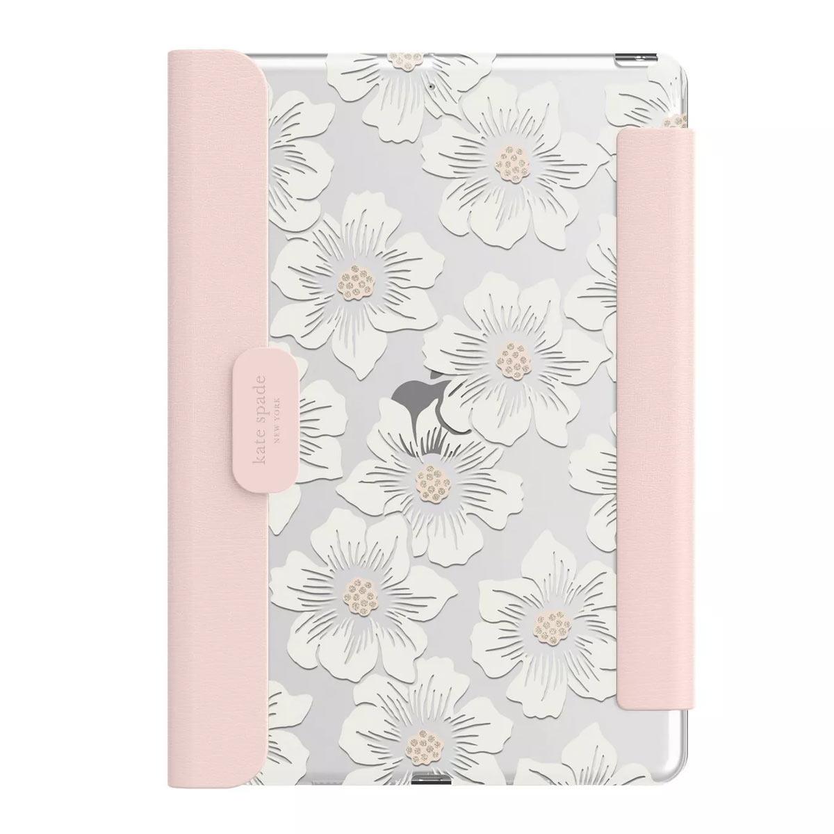 ケイトスペード iPad ケース 10.2インチ カバー 永遠の定番 価格交渉OK送料無料 ペン収納 可愛い おしゃれ Kate スタンド Spade