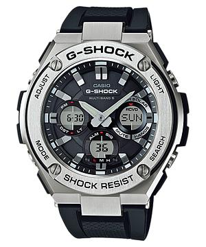 【CASIO/カシオ】 【G-SHOCK/ジーショック】Ref:GST-W110-1AJF メンズ腕時計 人気[新品]