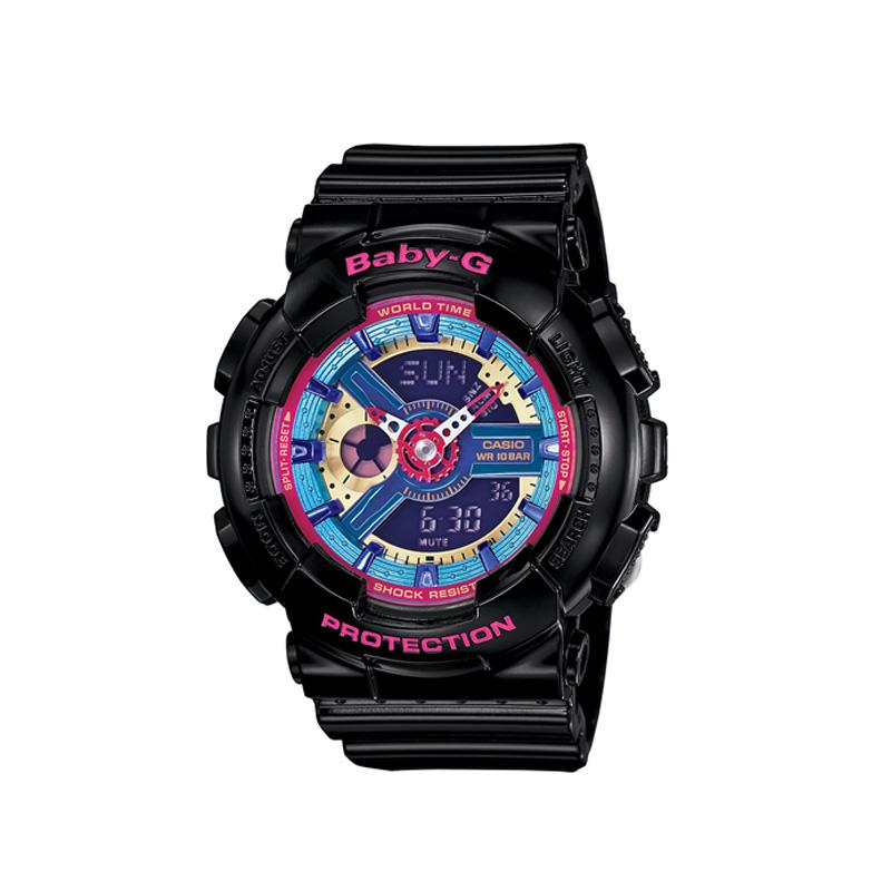 【送料無料】 【CASIO/カシオ】 BABY-G ベビーG REF:BA-112-1AJF レディース腕時計 新品 人気 ブラック