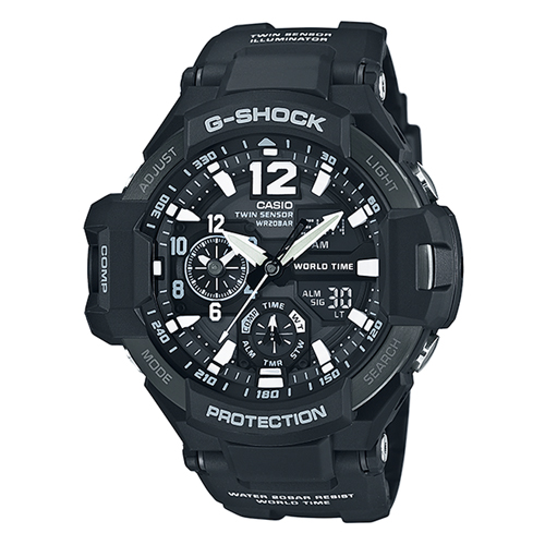 【CASIO/カシオ】【腕時計】【人気】【送料無料】CASIO G-SHOCK GA-1100-1AJF[新品]