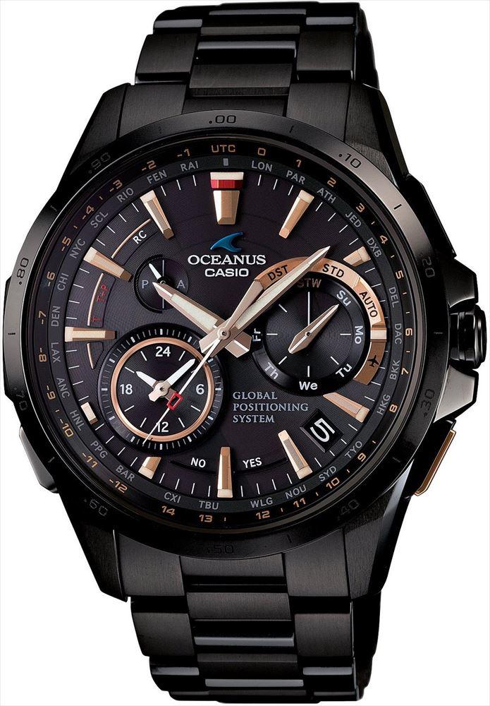 【送料無料】 【CASIO/カシオ】 OCEANUS REF:OCWG1000B-1A2JF メンズ腕時計 新品 人気 ブラック