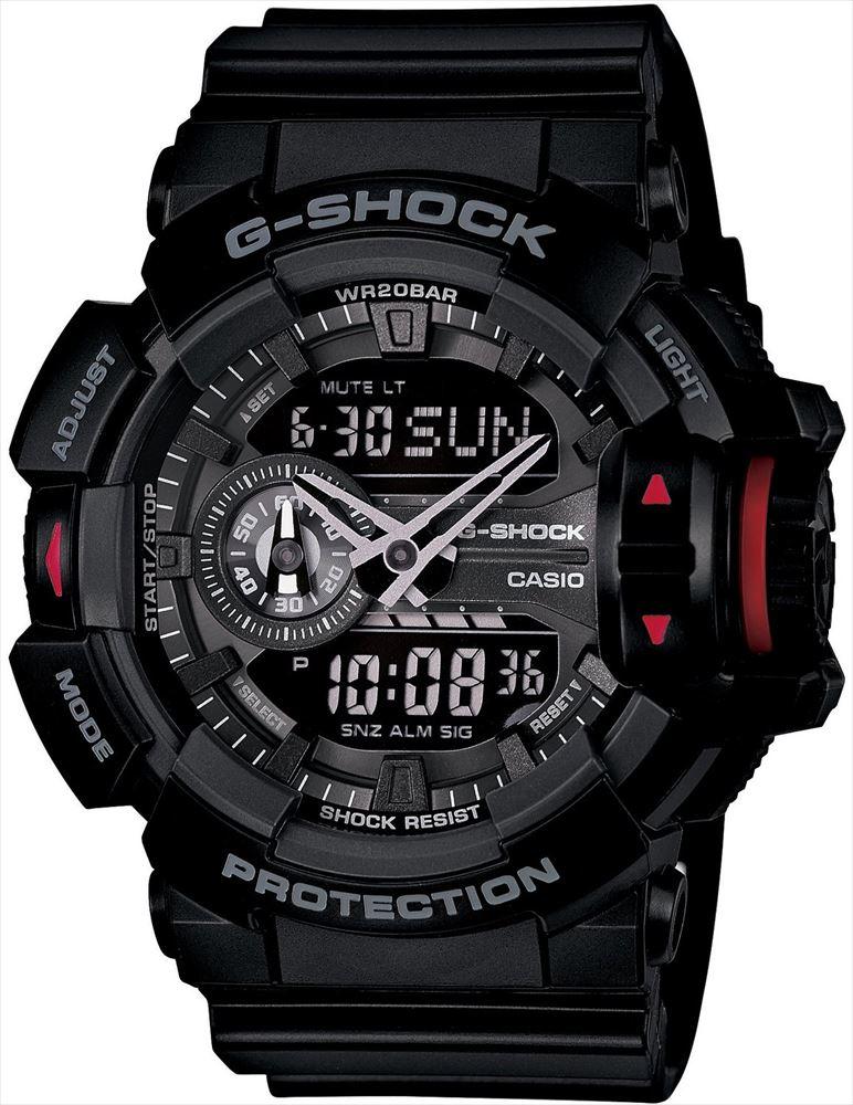 【送料無料】 【CASIO/カシオ】 G-SHOCK REF:GA-400-1BJF メンズ腕時計 新品 人気 ブラック