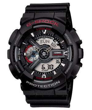 【送料無料】 【CASIO/カシオ】 G-ショック 腕時計 ジーショック REF:GA-110-1AJF サイズ 新品 人気 腕時計