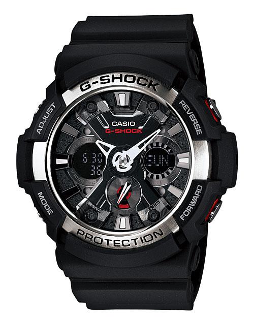 【送料無料】 【CASIO/カシオ】 G-SHOCK REF:GA200-1AJF メンズ腕時計 新品 人気