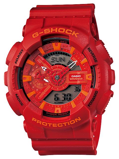 【送料無料】 【CASIO/カシオ】 G-ショック 腕時計 ジーショック REF:GA-110AC-4AJF[新品]