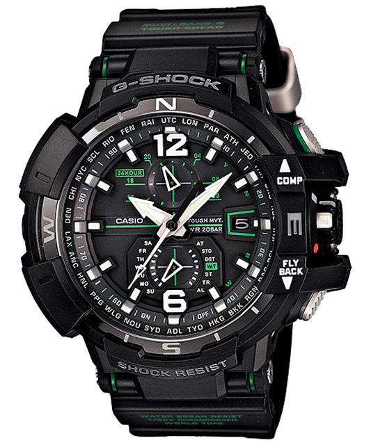 [ナイトセール]【送料無料】[CASIO/カシオ] G-ショック 腕時計 ジーショック スカイコックピット REF:GW-A1100-1A3JF[新品]