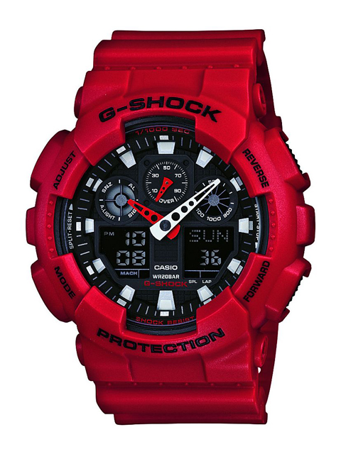 [CASIO/カシオ][G-SHOCK] BIG CASE GA-100B-4AJF [新品]【送料無料】