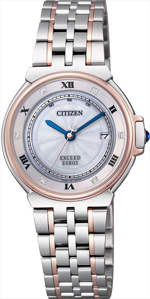 【送料無料】 【CITIZEN/シチズン】 エクシード REF:ES1036-50A レディース腕時計 新品 人気 シルバー/ピンクゴールド