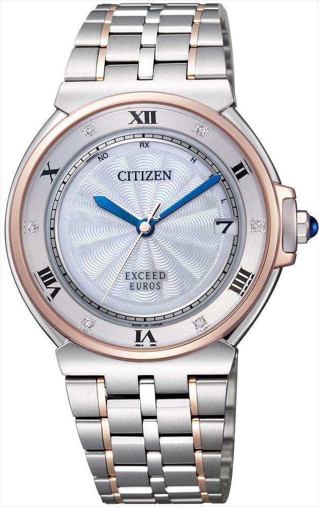 【送料無料】 【CITIZEN/シチズン】 エクシード REF:AS7076-51A レディース腕時計 新品 人気 シルバー/ピンクゴールド
