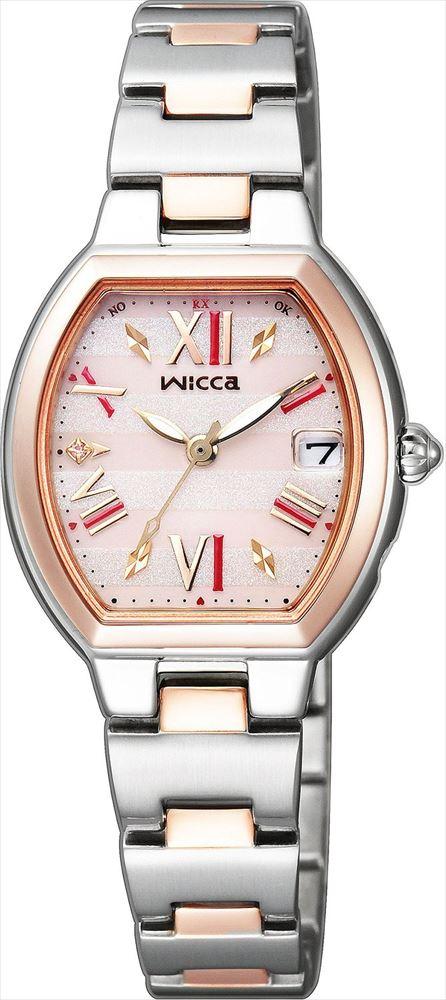 【送料無料】 【CITIZEN/シチズン】 ウィッカ REF:KL0-111-93 レディース腕時計 新品 人気 シルバー/ピンクゴールド