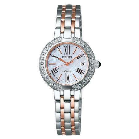【送料無料】 【SEIKO/セイコー】 エクセリーヌ REF:SWCW008 レディース腕時計 新品 人気